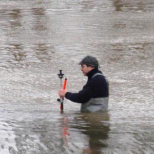 Post-Gärtner Vermessung im Wasser